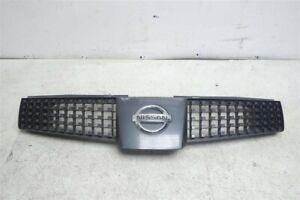 2004 2005 2006 Nissan Quest Front Upper Grille Grill 62070-5Z000 *Scratches*