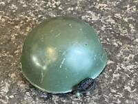 VINTAGE PAILITOY/HASBRO ACTION MAN GREEN HELMET WITH STRAP GOOD CONDITION