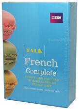 BBC Learn Talk French Complete - 4 CD-Audio, 2 Course Books Plus Grammar Guide
