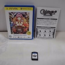 PS Vita -- Ciel Nosurge Best -- PlayStation Vita, JAPAN Game Sony. 61762