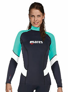 Mares UV-Shirt Rash Guard Trilastic Slim Fit Longsleeve Damen Collection 2021