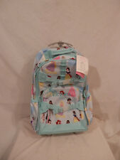 Disney Princess Rolling Back Pack Embroidered VICTORIA  NWT Pottery Barn Kids