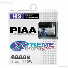 HE-305 H3 Lampadine PIAA Xtreme White Plus 4000K 12V 55W MAGGIORATO FOGLIGHT LAMPADINE (x2)