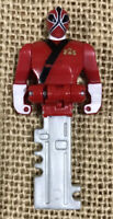 Legendary Ranger Key Pack - Red Ranger POWER RANGERS Super Megaforce NO FEET
