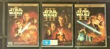 STAR WARS DVDs Bulk Lot Special Edition Collectibles Eps 1, 2, 3