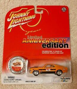 Johnny Lightning '70 Ford Mustang 18 of 20 Anniversary Ltd Edition
