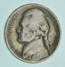 Key Date 1938-S - US Jefferson Nickel Coin Collection Lot Set Break *447