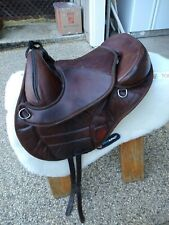 Torsion Treeless Endurance Trail Saddle 16 Italian Leather And Extras