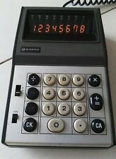 "SANYO ICC-808D ""NIXIE TYPE"" GHOSTBUSTER CALCULATOR Works perfectly GIZMO BELT"