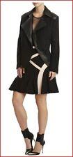 BCBG MAXAZRIA RUNWAY THE HAZEL BLACK JACKET size M NWT $868-RackE/84
