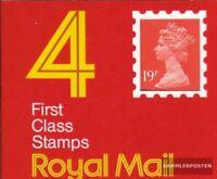 Großbritannien MH0-104 (kompl.Ausg.) postfrisch 1988 Königin Elisabeth II.