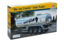 "Italeri 1/24 ""We are family"" Tank trailer # 3911"