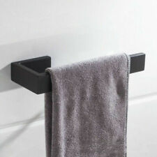 Bathroom Stainless Steel 304 Black Towel Ring Wall Mounted Towel Storage Holder