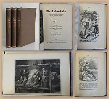 Horn Die Spinnstube Geschichten aus den Volksbüchern Bd 4-6 1927 Ludwig Richter