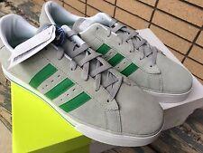 Adidas Neo Vulc Skate Shoes 11.5 Green Grey
