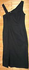schwarzes ,Damen Abendkleid,Cockteil-Kleid,Wadenlang Gr.38-Baumwolle