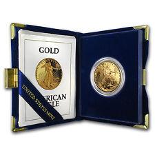 1992-W 1 oz Proof Gold American Eagle (w/Box & COA)