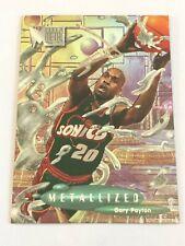 Card Gary Payton FLEER METAL '96-97 METALLIZED #228