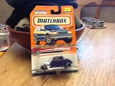 Matchbox Great Drivers  Series  1933 Ford Coupe   # 20