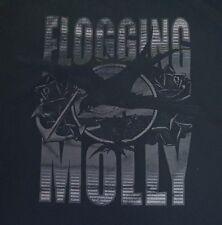 Flogging Molly T-Shirt Bird Anchor Roses Black Size Large Sun International