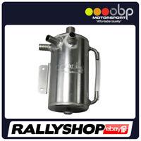 OBP SUBARU Baffled 1 Litre Round Bulk Head Mount Oil Catch Tank rally CTSU02B