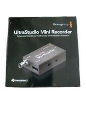 Blackmagic Design Small Recorder Ultrastudio Mini Recorder 001846