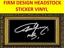 STICKER FIRM WHITE ANGUS YOUNG AC/DC VISIT OUR STORE WITH MANY MORE MODELS