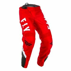 Motocross MX Trousers > Fly 2020 F-16 600D Polyester - Red/Black/White