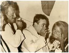 Le batteur de jazz Moustache  Vintage silver print Tirage argentique  18x24