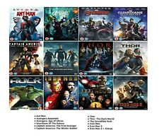 AVENGERS ULTIMATE MARVEL 12 MOVIES DVD Complete Collection UK Rele New Sealed R2