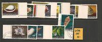 Papua New Guinea 1968 Sea Shells Set Fine Used