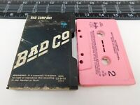 Slip Case Bad Company Cassette Self Titled Audio Tape CS-8410