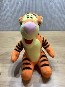 Disney Tigger Plush Soft Toy Collectable Poohs Friend 8 Inch Nursery Sat Up