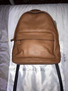 Michael Kors Backpack - Brown Pebble Leather EUC