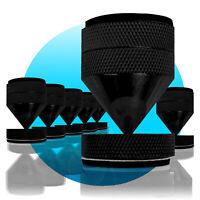 8 x ABSORBER Noicekiller Dynavox Spikes Schwarz BOXENFÜßE Lautsprecher-Füße big