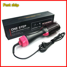 3 In 1 One Step Hair Dryer Volumizer Brush Straightening Curling Iron Good Comb