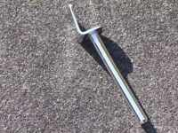 Long Spade For Rail Consolette Assembly.  Fits Vintage Gretsch