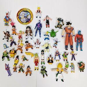 "Dragon Ball Z 39 Mini Action Figures Lot, 1989 BS/STA Vintage 1.5""-2.5"" Toys"