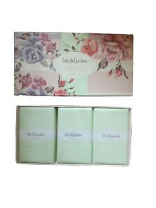 MARY KAY INTO THE GARDEN 3 PC SOAP SET - LIMITED EDITION, DISCONTINUED