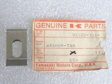 Kawasaki NOS NEW  92022-3514 Washer Invader Intruder Snowmobile Snow 1978-79