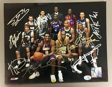 Western Conference All Star Team 2002- 8x10 signed Photo