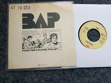 BAP - Fortsetzung folgt/ Good speech 7'' Single PROMO