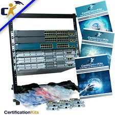 Cisco Ccna 200-301 Premium Lab Kit *Rack & 1 Yr Wty