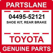 04495-52121 Toyota OEM Genuine SHOE KIT, REAR BRAKE