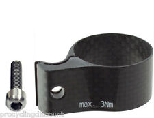OMNI Racer FULL CARBON Front Derailleur Adapter Clamp Fits Campagnolo 31.8-32mm