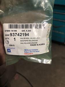 GM Transmission Solenoid Valve Fits Chevrolet Optra Daewoo 93742194