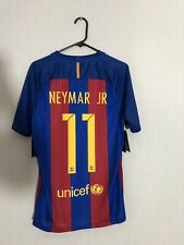 Neymar Jr #11 Barcelona 2016/17 Home Small Football Shirt Jersey Nike BNWT