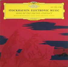 STOCKHAUSEN  Electronic Music, Song Of The Youths GERMAN LP