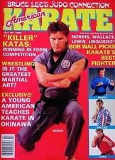 7/88 AMERICAN KARATE JOE LEWIS  BENNY URQUIDEZ BILL WALLACE KUNG FU MARTIAL ARTS