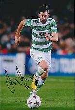 Joe LEDLEY SIGNED Autograph 12x8 Photo AFTAL COA CELTIC Scottish Premiership